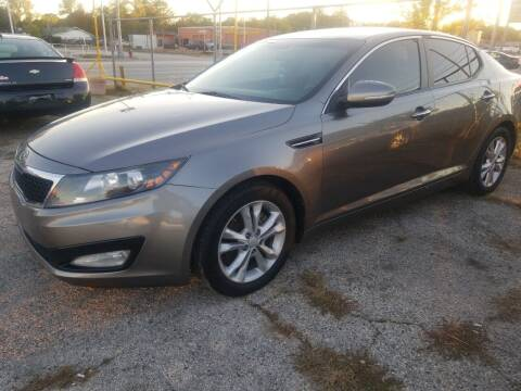 2012 Kia Optima for sale at Nile Auto in Fort Worth TX
