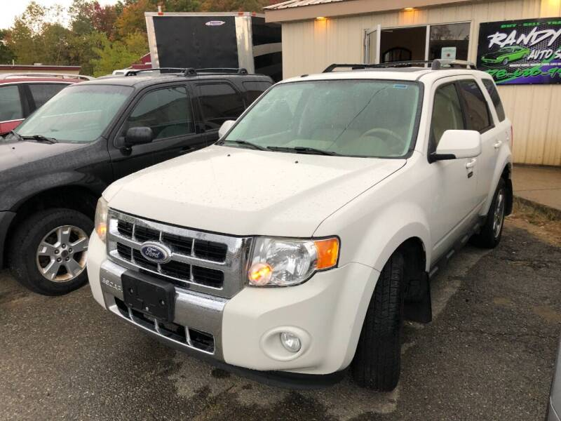 2010 Ford Escape for sale at Randys Auto Sales in Gardner MA