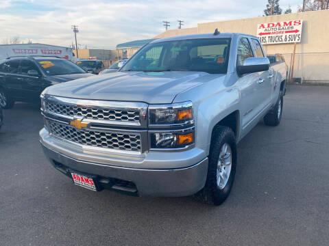 2015 Chevrolet Silverado 1500 for sale at Adams Auto Sales in Sacramento CA