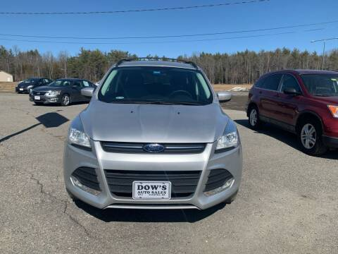 2013 Ford Escape for sale at DOW'S AUTO SALES in Palmyra ME