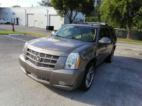 2013 Cadillac Escalade ESV for sale at Best Price Car Dealer in Hallandale Beach FL