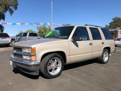 1999 Chevrolet Tahoe for sale at C J Auto Sales in Riverbank CA