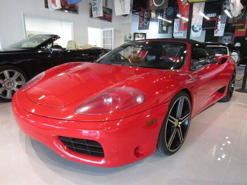 2002 Ferrari 360 Spider for sale at Auto Sport Group in Delray Beach FL