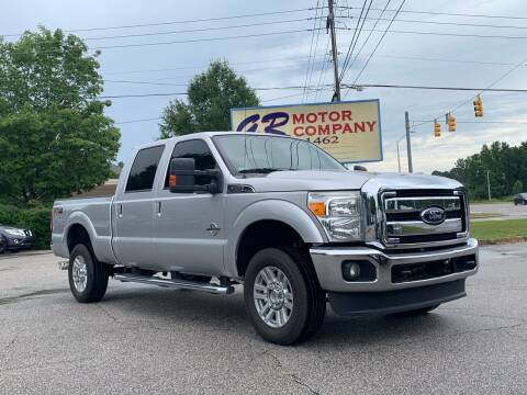 2012 Ford F-350 Super Duty for sale at GR Motor Company in Garner NC