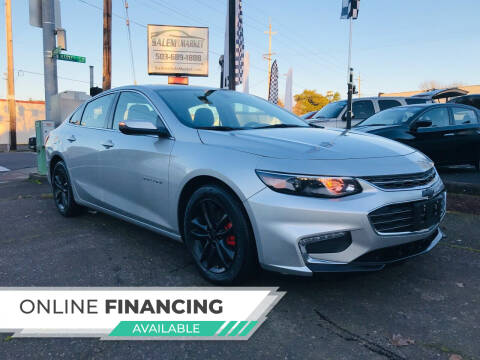 2018 Chevrolet Malibu for sale at Salem Auto Market in Salem OR
