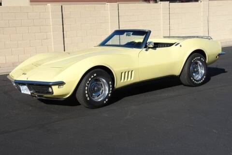 1968 Chevrolet Corvette for sale at Classic Car Deals in Cadillac MI