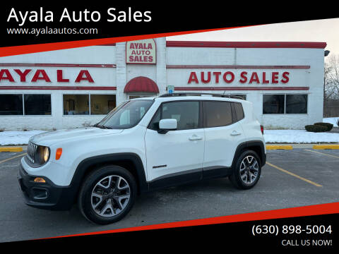 2015 Jeep Renegade for sale at Ayala Auto Sales in Aurora IL