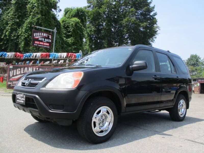 2004 Honda CR-V for sale at Vigeants Auto Sales Inc in Lowell MA