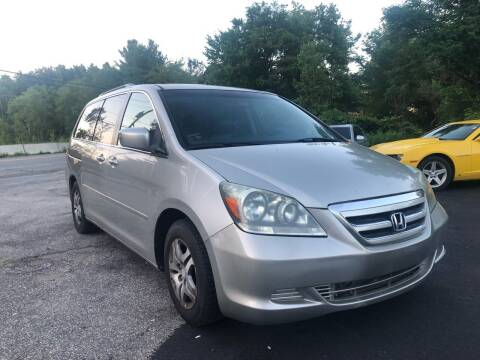 2005 Honda Odyssey for sale at Royal Crest Motors in Haverhill MA