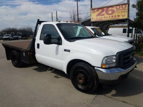 2004 Ford F-350 Super Duty for sale at RODRIGUEZ MOTORS CO. in Houston TX