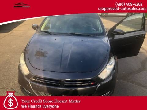 2014 Dodge Dart for sale at UR APPROVED AUTO SALES LLC in Tempe AZ