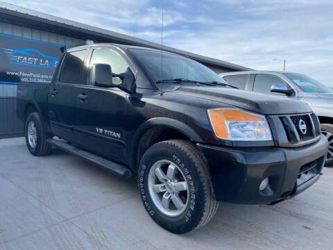 2012 Nissan Titan for sale at Platinum Car Brokers in Spearfish SD