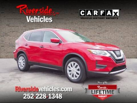 2017 Nissan Rogue for sale at Riverside Mitsubishi(New Bern Auto Mart) in New Bern NC