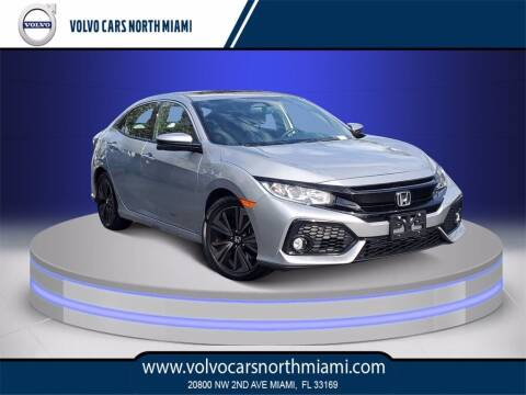 2018 Honda Civic for sale at Volvo Cars North Miami in Miami FL