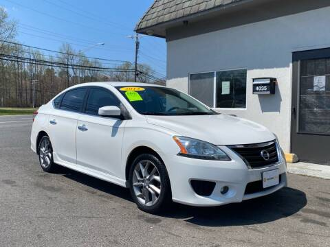 2013 Nissan Sentra for sale at Vantage Auto Group in Tinton Falls NJ