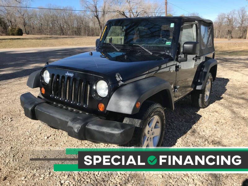 2007 Jeep Wrangler for sale at Budget Auto Sales in Bonne Terre MO