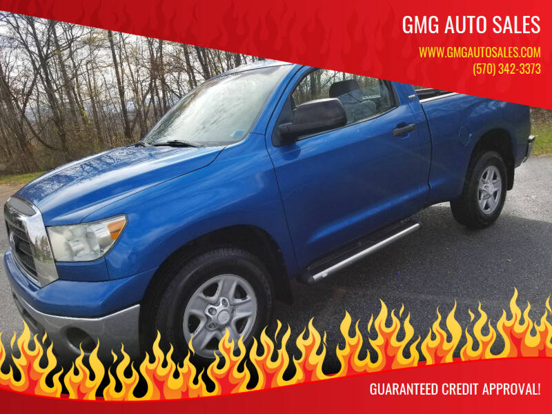2007 Toyota Tundra for sale at GMG AUTO SALES in Scranton PA