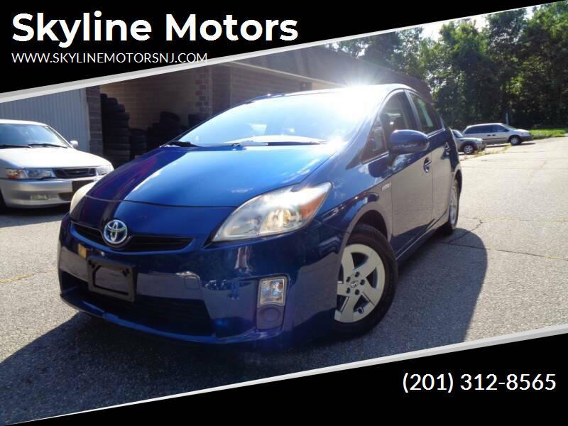 2010 Toyota Prius for sale at Skyline Motors in Ringwood NJ