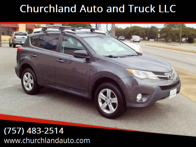 2014 Toyota RAV4 for sale at Churchland Auto and Truck LLC in Portsmouth VA