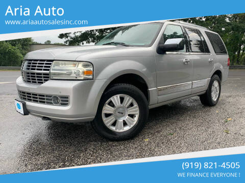 2010 Lincoln Navigator for sale at ARIA  AUTO  SALES in Raleigh NC