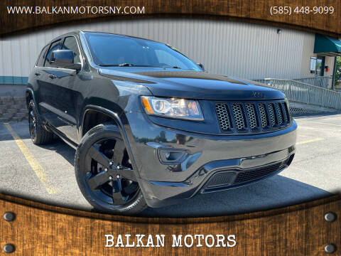 2015 Jeep Grand Cherokee for sale at BALKAN MOTORS in East Rochester NY