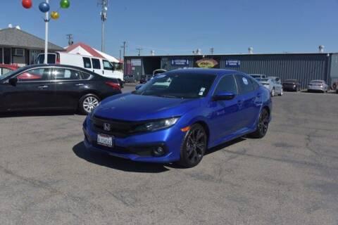 2019 Honda Civic for sale at Choice Motors in Merced CA