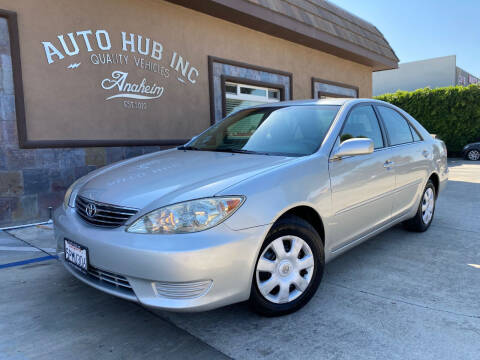 2005 Toyota Camry for sale at Auto Hub, Inc. in Anaheim CA