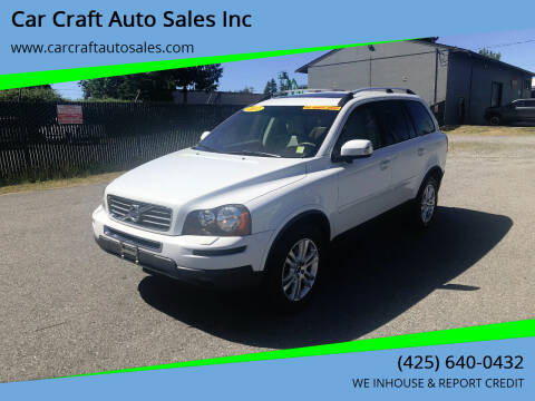 2011 Volvo XC90 for sale at Car Craft Auto Sales Inc in Lynnwood WA