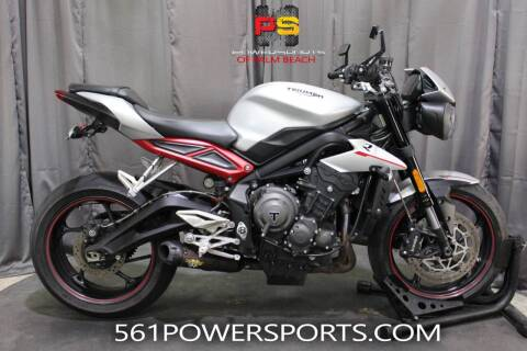 2018 Triumph Street Triple R for sale at Powersports of Palm Beach in Hollywood FL