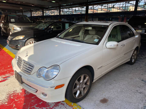 2007 Mercedes-Benz C-Class for sale at JerseyMotorsInc.com in Teterboro NJ