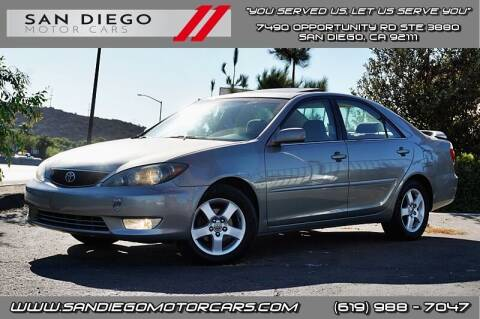 2006 Toyota Camry for sale at San Diego Motor Cars LLC in San Diego CA
