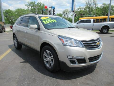 2015 Chevrolet Traverse for sale at Auto Land Inc in Crest Hill IL