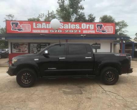 2012 Toyota Tundra for sale at LA Auto Sales in Monroe LA