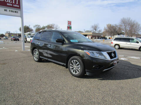 2016 Nissan Pathfinder for sale at Padgett Auto Sales in Aberdeen SD