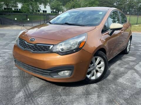 2012 Kia Rio for sale at el camino auto sales - Global Imports Auto Sales in Buford GA
