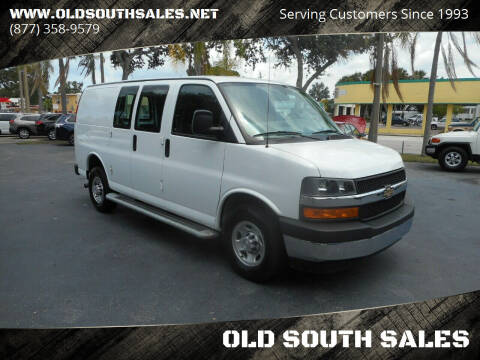 2018 Chevrolet Express Cargo for sale at OLD SOUTH SALES in Vero Beach FL