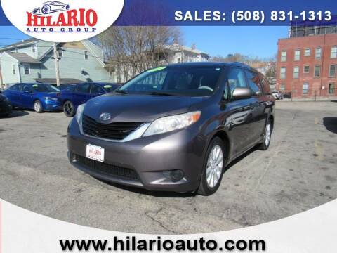2012 Toyota Sienna for sale at Hilario's Auto Sales in Worcester MA