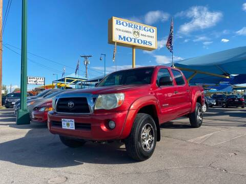2005 Toyota Tacoma for sale at Borrego Motors in El Paso TX