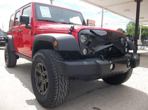 2016 Jeep Wrangler Unlimited for sale at Broken Arrow Motor Co in Broken Arrow OK