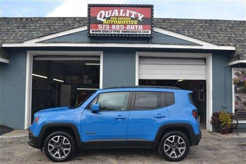2015 Jeep Renegade for sale at Quality Pre-Owned Automotive in Cuba MO