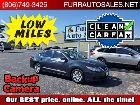 2017 Nissan Altima for sale at FURR AUTO SALES in Lubbock TX