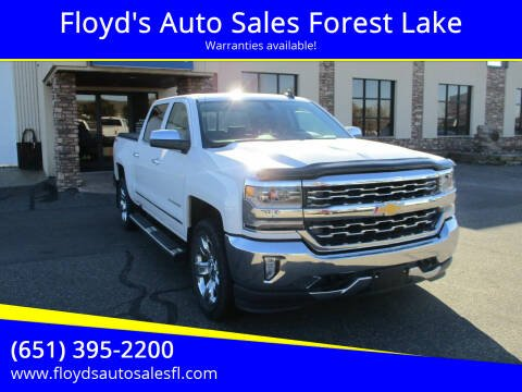 2016 Chevrolet Silverado 1500 for sale at Floyd's Auto Sales Forest Lake in Forest Lake MN