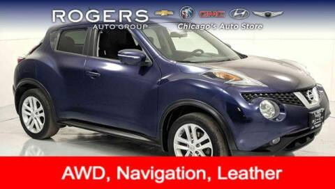 2016 Nissan JUKE for sale at ROGERS  AUTO  GROUP in Chicago IL