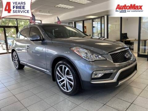 2017 Infiniti QX50 for sale at Auto Max in Hollywood FL
