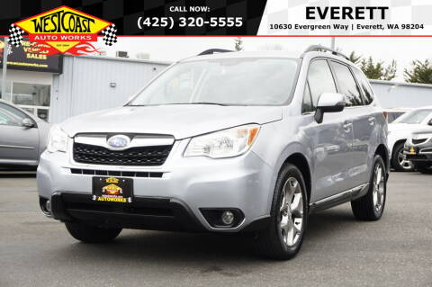 2016 Subaru Forester for sale at West Coast Auto Works in Edmonds WA