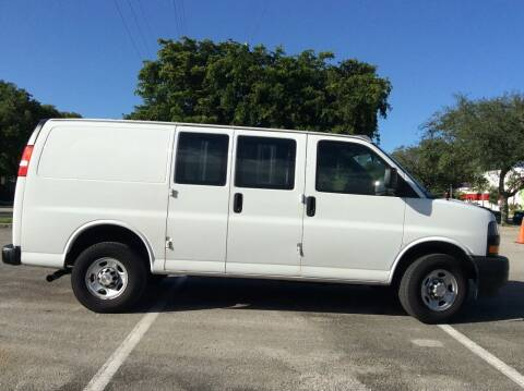 2019 Chevrolet Express Cargo for sale at Tropical Motors Cargo Vans and Car Sales Inc. in Pompano Beach FL
