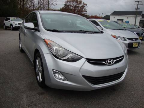2012 Hyundai Elantra for sale at Easy Ride Auto Sales Inc in Chester VA