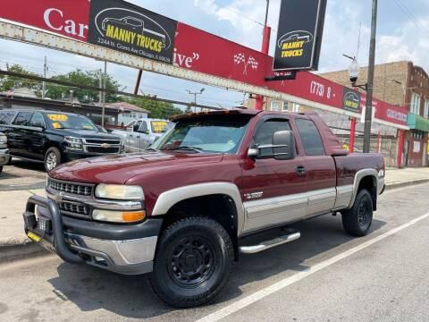 2000 Chevrolet Silverado 2500 for sale at Manny Trucks in Chicago IL