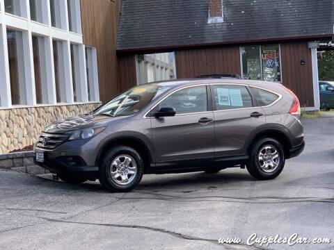 2012 Honda CR-V for sale at Cupples Car Company in Belmont NH