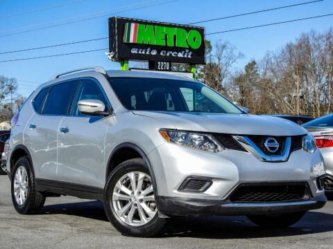 2016 Nissan Rogue for sale at Used Imports Auto - Metro Auto Credit in Smyrna GA